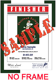 Finisher Certificate (w/o frame) (ID:168033) - $5.99