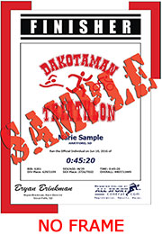 Finisher Certificate (w/o frame) (ID:284571) - $5.99