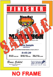 Finisher Certificate (w/o frame) (ID:353584) - $5.99