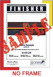 Finisher Certificate (w/o frame) (ID:349079) - $6.95