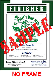 Finisher Certificate (w/o frame) (ID:350752) - $5.99